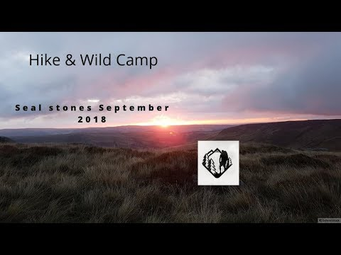 Hike and Wild Camp Seal Stones Peak District September 2018