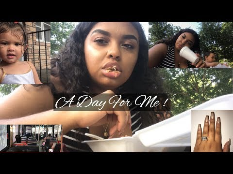 VLOG: MY DAY OUT | GETTING NAILS DONE + GRANDMA IN THE CUT ~ Jeannie Marie