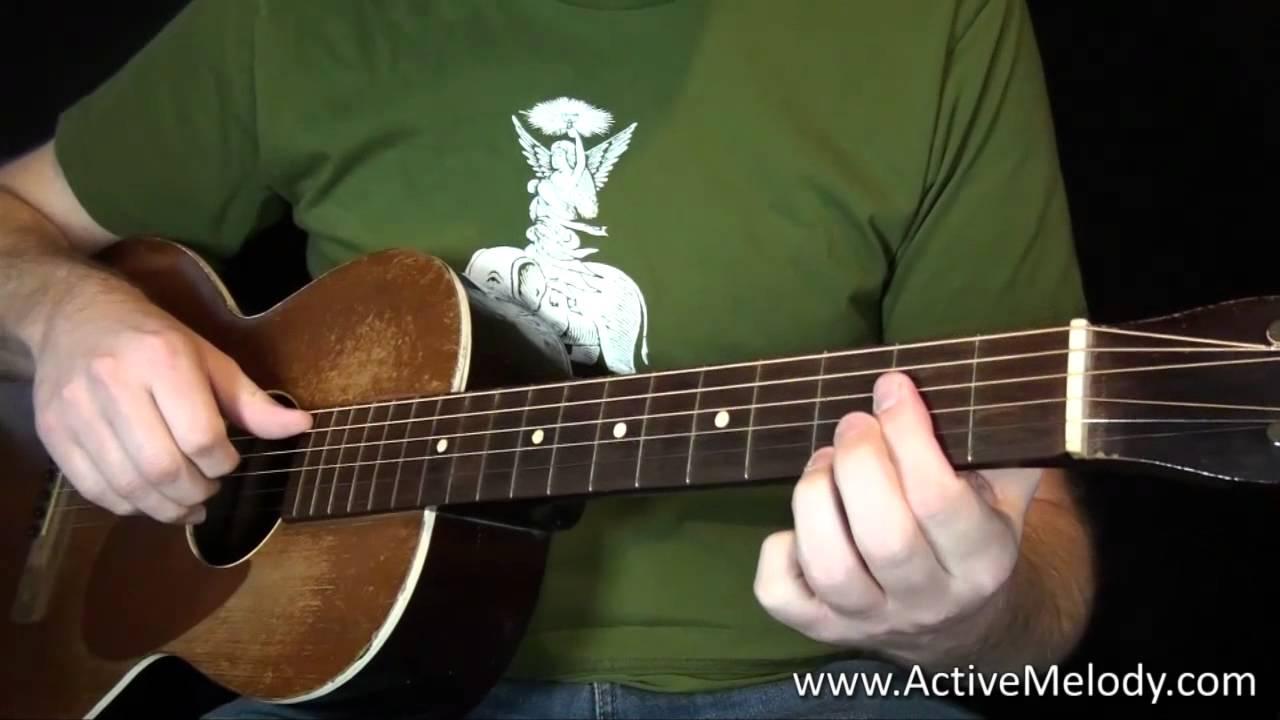 Delta Blues Guitar Lesson - Fingerstyle Like Robert Johnson