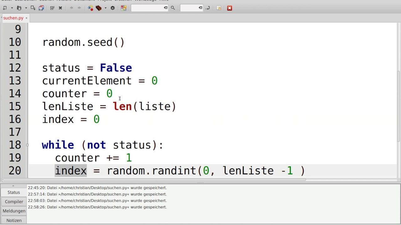 Algorithmus Programm
