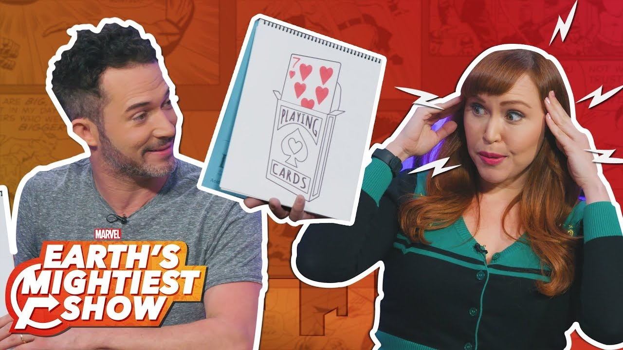 Magician Justin Willman reveals his Doctor Strange connection! | Earth's Mightiest Show