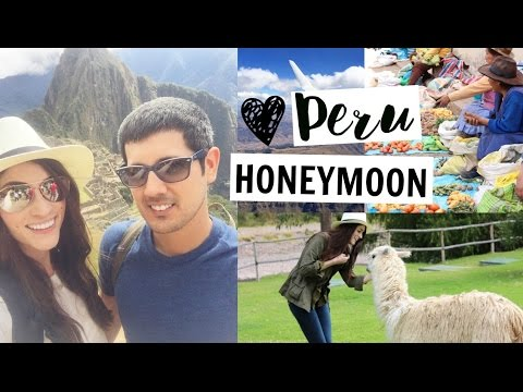 HONEYMOON VLOG ♡ Peru  | Machu Picchu
