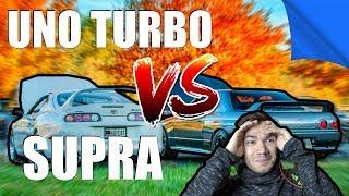 UNO TURBO VS SUPRA?! NO QUESTO NO