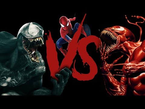 Venom Vs Spiderman Vs Carnage Rap Battle (Marvel Comics) | Daddyphatsnaps