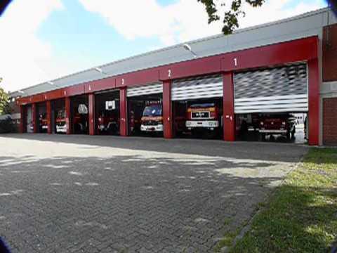 High Speed Doors  EFAFLEX STT  Fire Station  YouTube