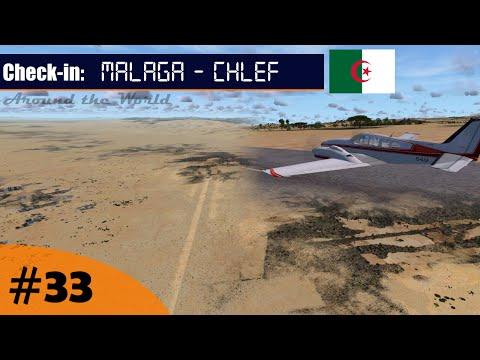 Flight Simulator [FSX]   Around the World #33 - Malaga (LEMG) - Chlef (DAOI)   IVAO   Beechcraft