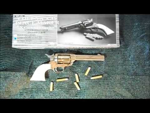 Marushin x-cartridge colt single action army (saa)