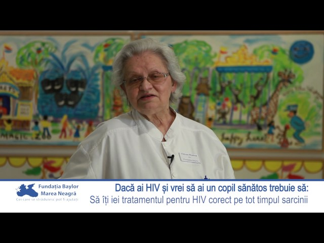Dr. Rodica Mătușa - Poți avea un copil sănătos dacă ai HIV?
