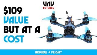 NEW MICRO EACHINE WIZARD - $109 mini BEAST! THE GOOD and the parts YOU have to FIX yourself