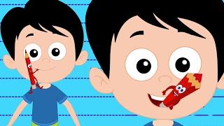 Голова Плечи колени и пальцы ног | детские стишки | Rhymes For Kids | Head Shoulders Knees and Toes