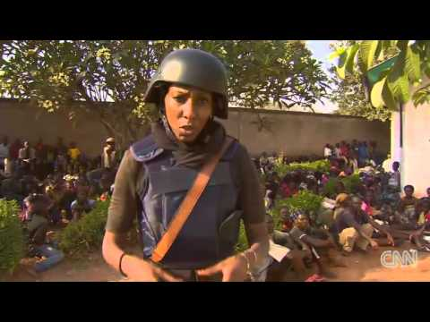 CNN Crew Under Attack In Bossangoa - Central African Republic