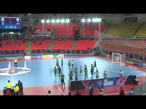 #AFCWFutsal2018 - M06 Turkmenistan vs Islamic Republic of Iran