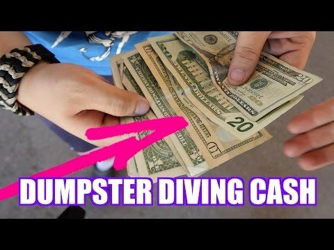 Turning Dumpster Diving Trash Into Cash!