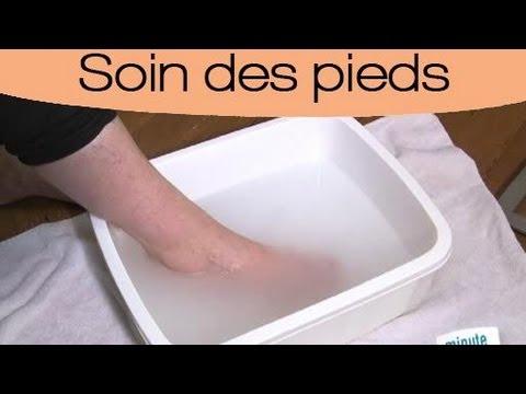 comment laver les pieds