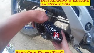 Instalando Escape Disarsz na Titan 150 [Apk dudu]