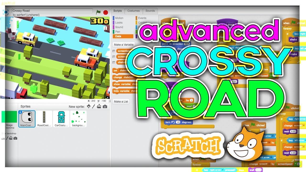 Advanced Scratch Tutorial: Crossy Road! [Part 1]