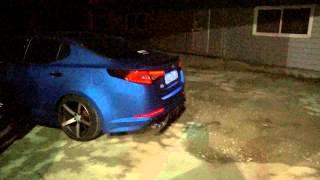 jsr performance k5 exhaust sound at night