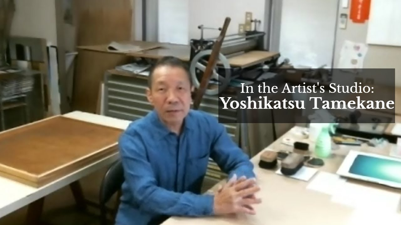 In The Artist's Studio with TAMEKANE Yoshikatsu