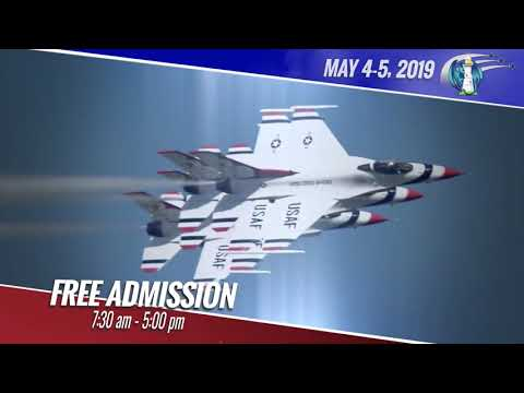 Steve Powers - This video will get you fired up for Thunderbirds coming to Biloxi in May!