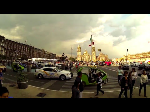 Mexico City Downtown-UNESCO World Heritage site.