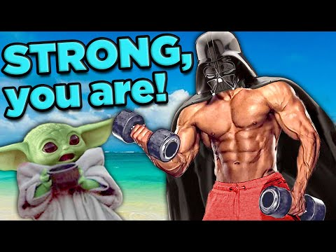 Is Darth Vader REALLY That STRONG?!   The SCIENCE of... Star Wars