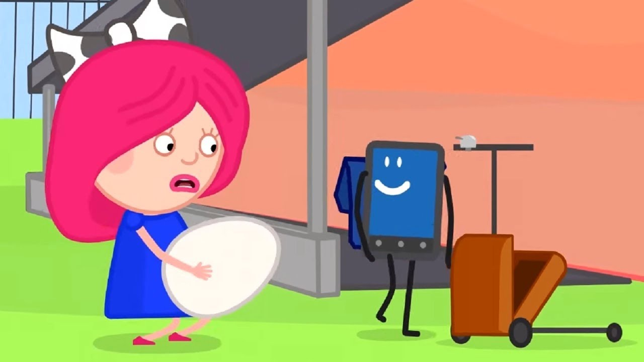 Мультики - Смарта и Чудо-сумка - Яйцо  - Развивающие мультфильмы