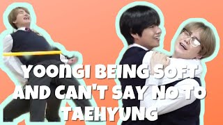 Yoongi  Being Soft And Can't Say No to Taehyung   2020
