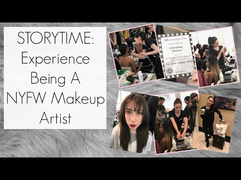 Story Time W/ Vlog Footage: My Experience As A New York Fashion Week Makeup Artist    BeautyChickee