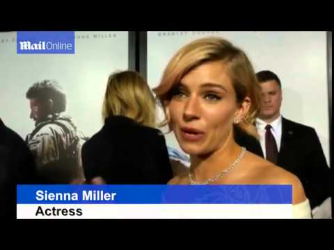 Miller, Eastwood,   Cooper at American Sniper premiere