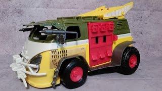 NEW Nickelodeon TMNT Party Wagon / Turtle Van  - TMNT Teenage Mutant Ninja Turtles Vehicle Review