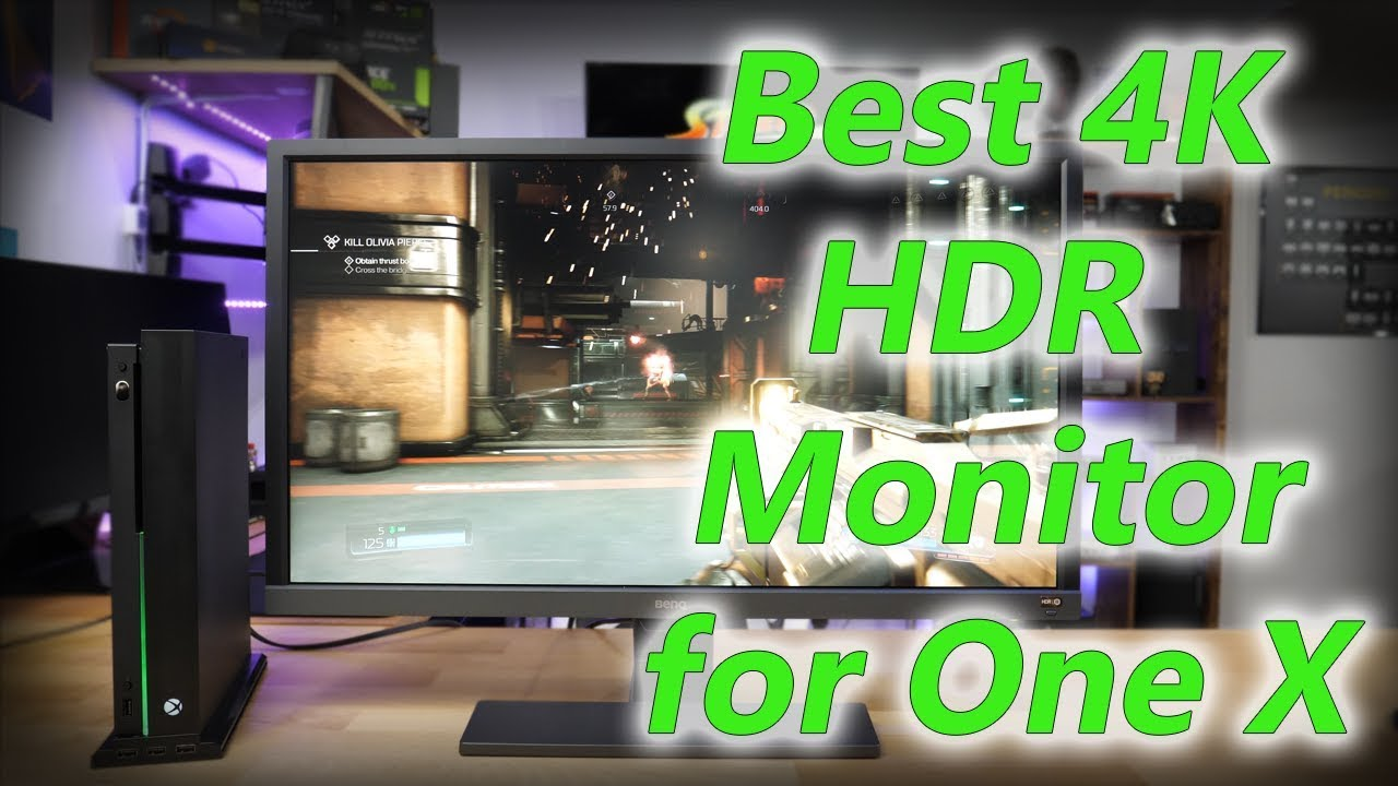 Best 4K HDR Monitor for the One X! - BenQ EL2870U Review