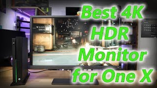 The benq el2870u is a fantastic 4k hdr gaming monitor. although it tn panel, usage great for consoles. xbox one x takes full advan...