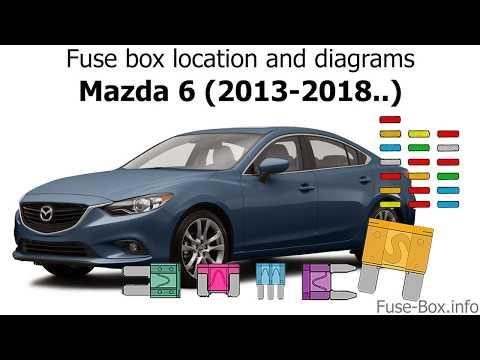 [DHAV_9290]  Fuse box location and diagrams: Mazda 6 (2013-2018..) - YouTube | 2015 Mazda 6 Engine Diagram |  | YouTube