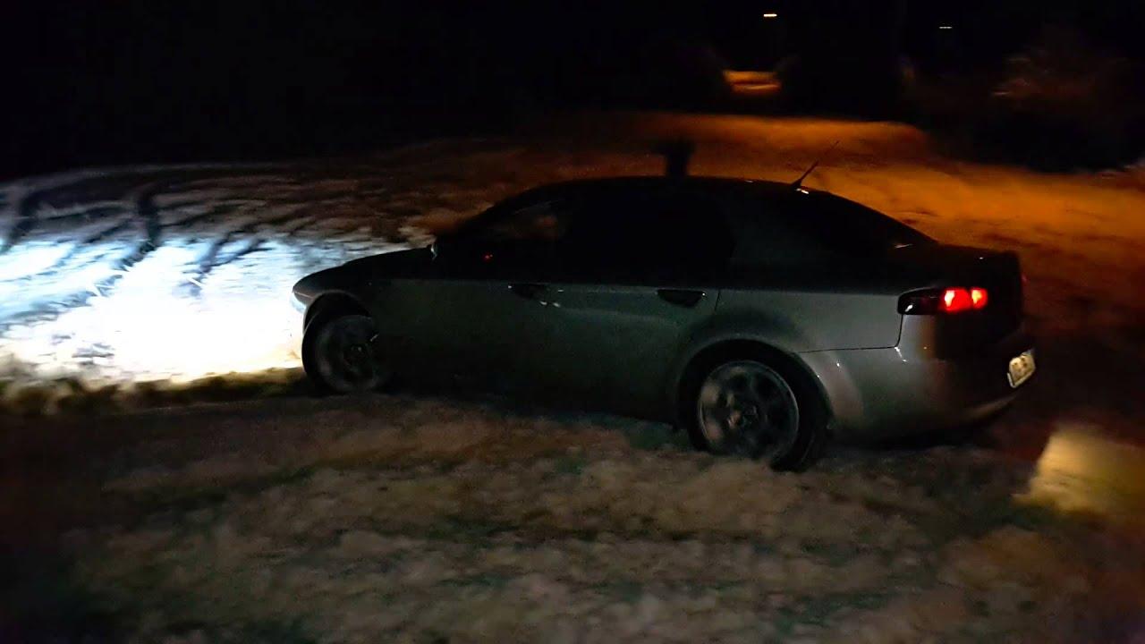 Alfa Romeo 159 3 2 Q4 Audi A6 3 2 Quattro Snow Youtube