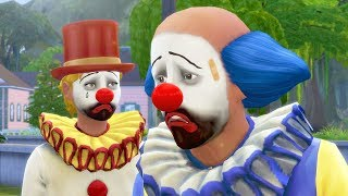 Creating an Army of Sad Clowns in The Sims 4 (CAS)