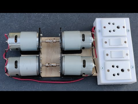 Most Powerful 220V Free Energy Generator