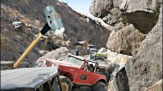 Sledgehammer Trail in Johnson Valley - #TrailtoSEMA pt6