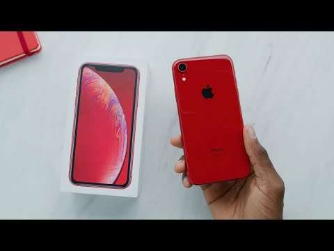 RED iPhone XR Unboxing & Giveaway!