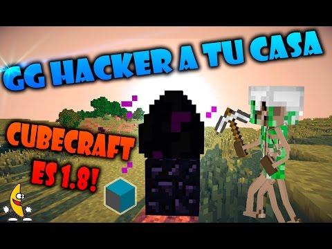 GG HACKER A TU CASA!! Minecraft PvP Eggwars y SKywars CUBECRAFT 1.8!!
