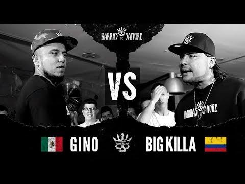 Barras De Sangre: Gino 🇲🇽 vs Big Killa 🇨🇴  [ Batallas Escritas ]