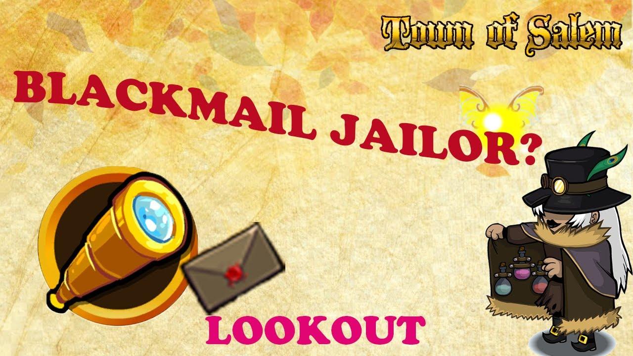 DOES BLACKMAILING JAILOR WORK? Town of Salem | Master Elo Lookout