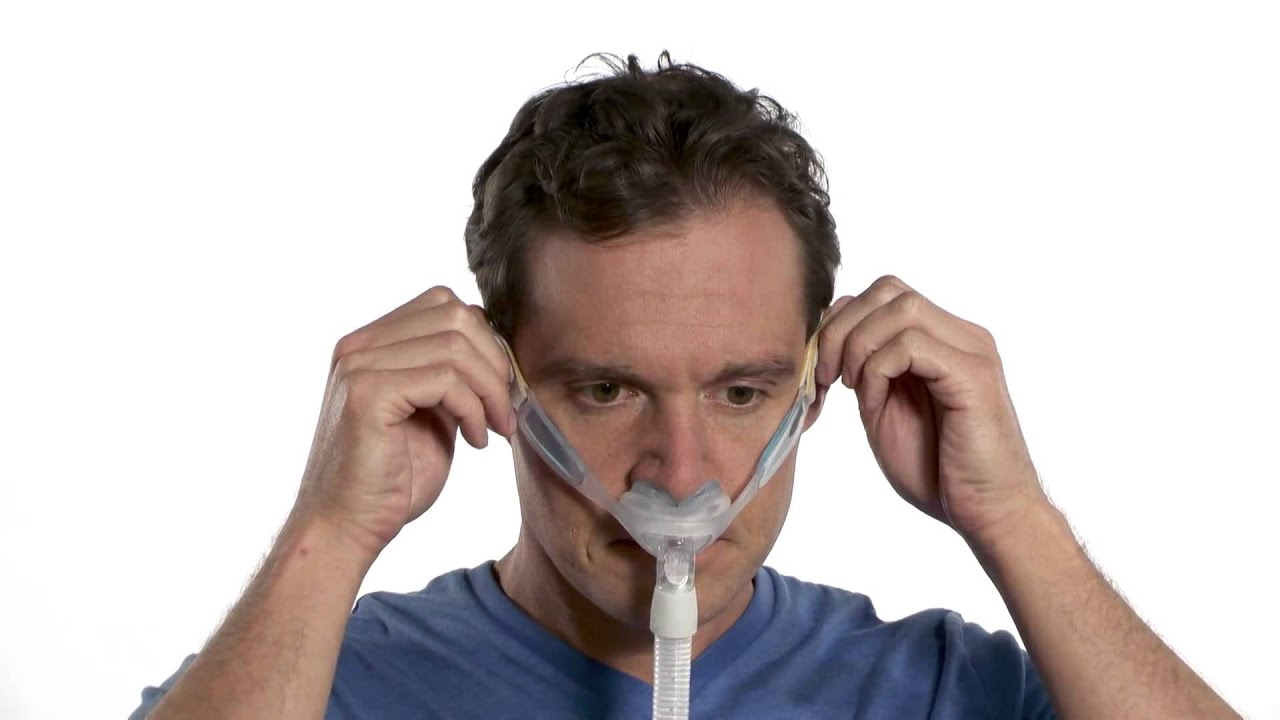 pillow aloha white innomed cpap introduces the closeup system nasal inc nose respcare
