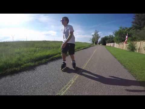 Inline Skating Hills slaloming and backwards - Shop Task Podcast 1