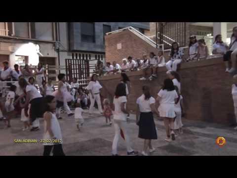 Tv San Adrian - 27/07/2017 - Fiestas - Baile de la Jota de San Adrian