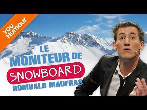 ROMUALD MAUFRAS- Le moniteur de snowboard