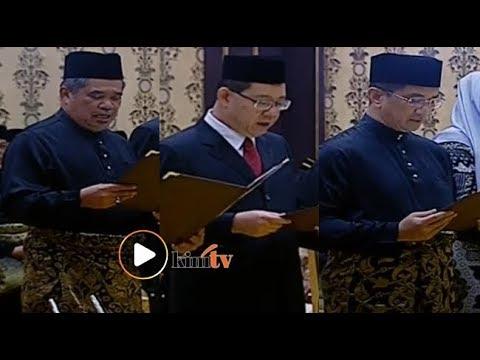 Mat Sabu, Guan Eng, Azmin angkat sumpah jawatan menteri