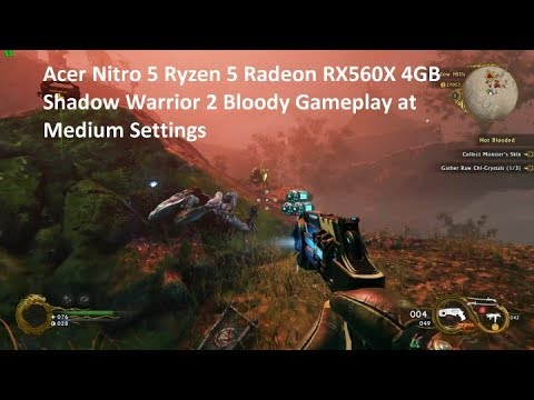 Acer Nitro 5 Ryzen 5 RX560X Review and Gameplay - Lamesheep