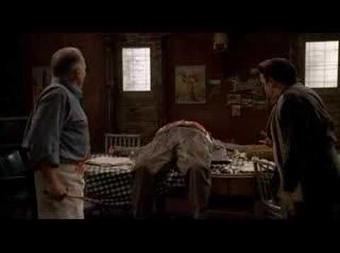 The Sopranos - Breaking balls goes too far
