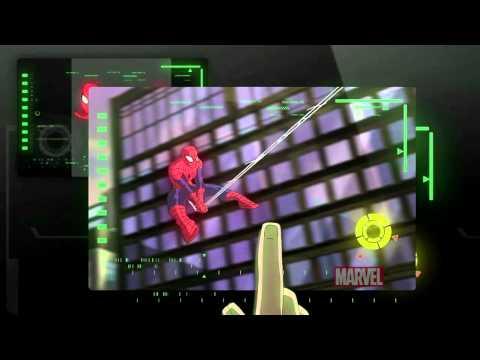 do novo desenho do Homem-Aranha