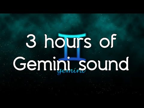 🎧 ♊ Gemini relief sound - Pure frequency of Gemini 293.66.Hz and music white noise